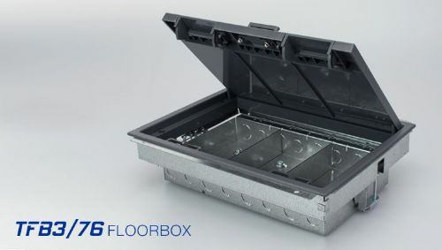 TASS TFB3/76 3 Compartment Floor Box